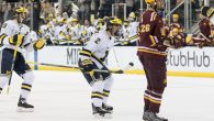 After a wild comeback Friday night, it was more of the same Saturday in Ann Arbor. On goals from Brendan Warren, Luke Martin and Tony Calderone, the Wolverines […]