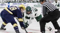 Notre Dame made its first visit to Munn Ice Arena as a member of the Big Ten Friday night, and the Fighting Irish continued their winning streak by […]